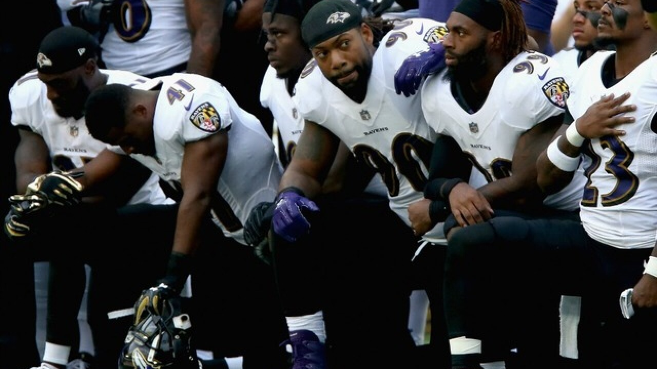 Report: NFL considering penalties for protests during national anthem