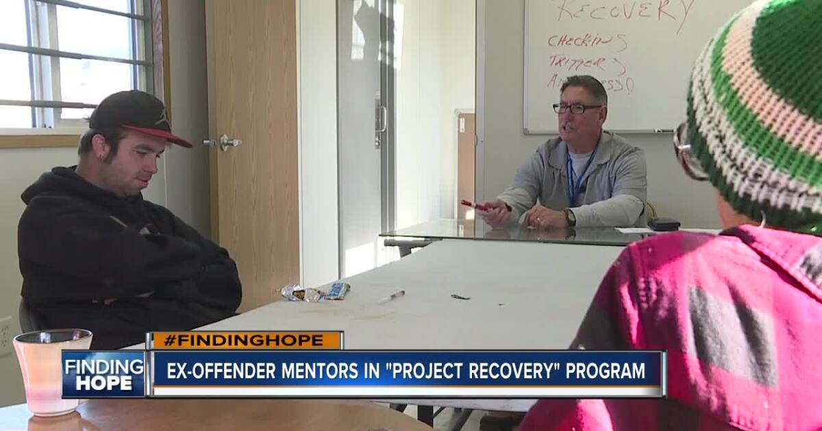 Ex-offender mentors homeless Idahoans struggling with addiction in new program
