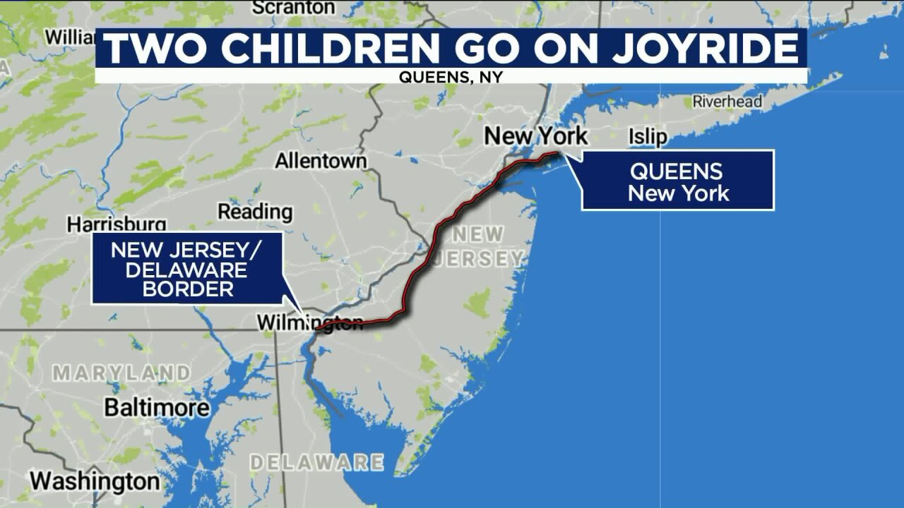 12-year-old takes SUV on joyride from Queens to Delaware: police