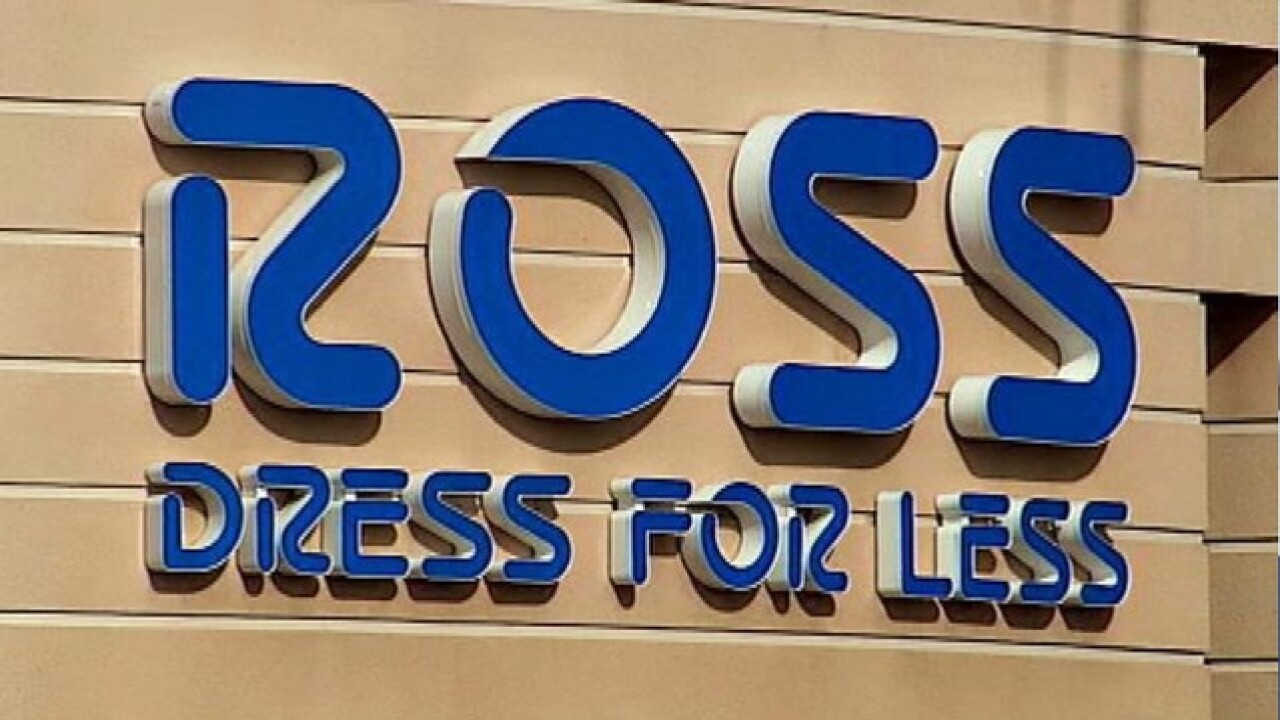 Discount Clothing Home Goods Retailer Ross Dress For Less Opening