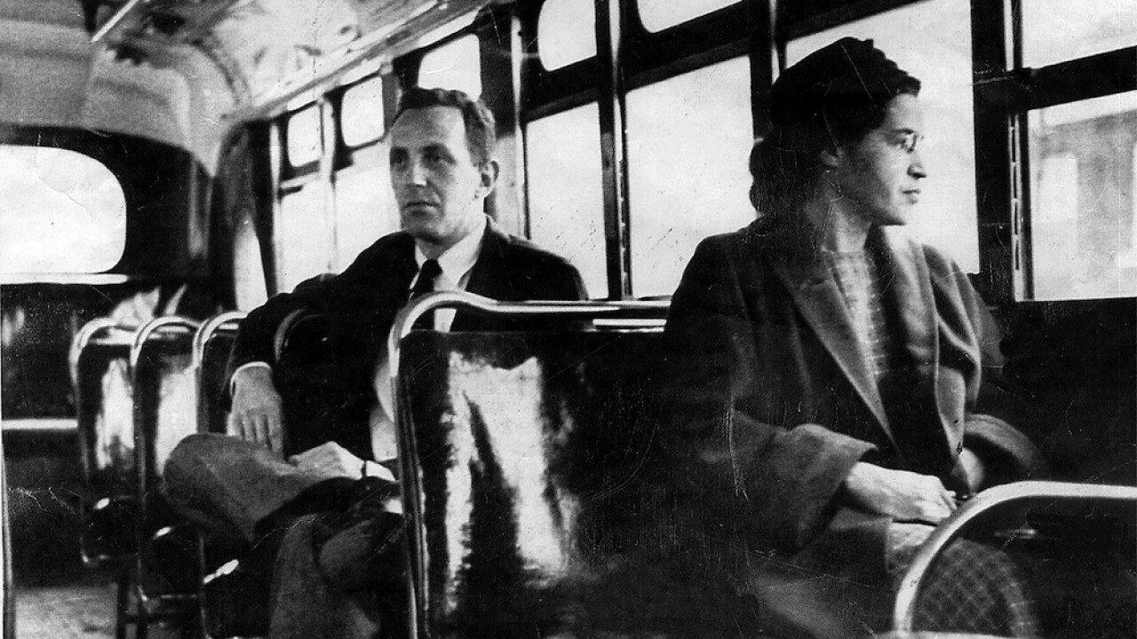 65 years ago today, Rosa Parks refused to give up her seat and changed America forever
