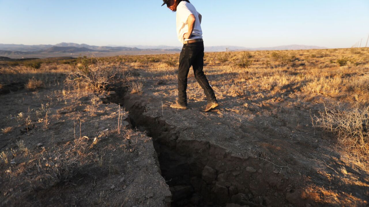 Seismic activity along the San Andreas fault line could trigger a devastating earthquake in California by 2030