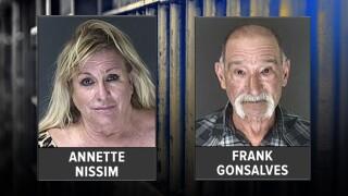 Annette Nissim and Frank Gonsalves.jpg