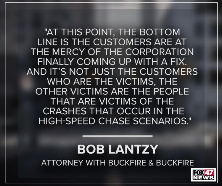 Bob Lantzy, an attorney at Buckfire & Buckfire