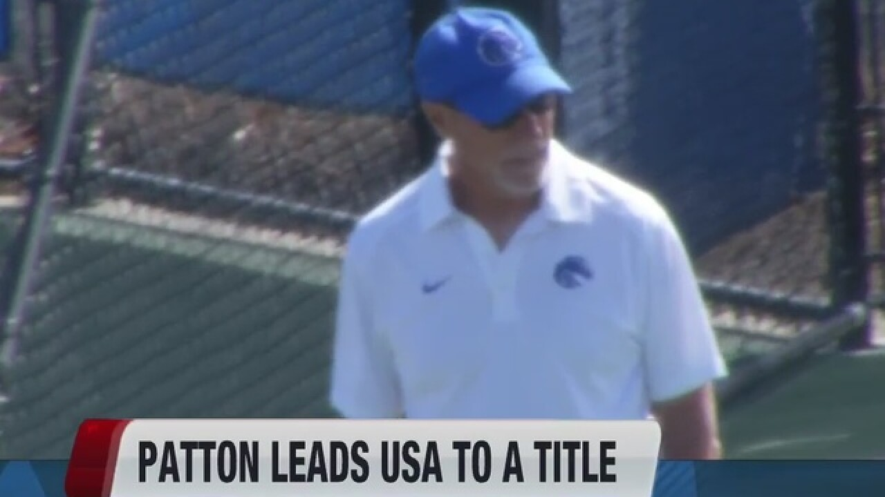 Patton helps USA win title