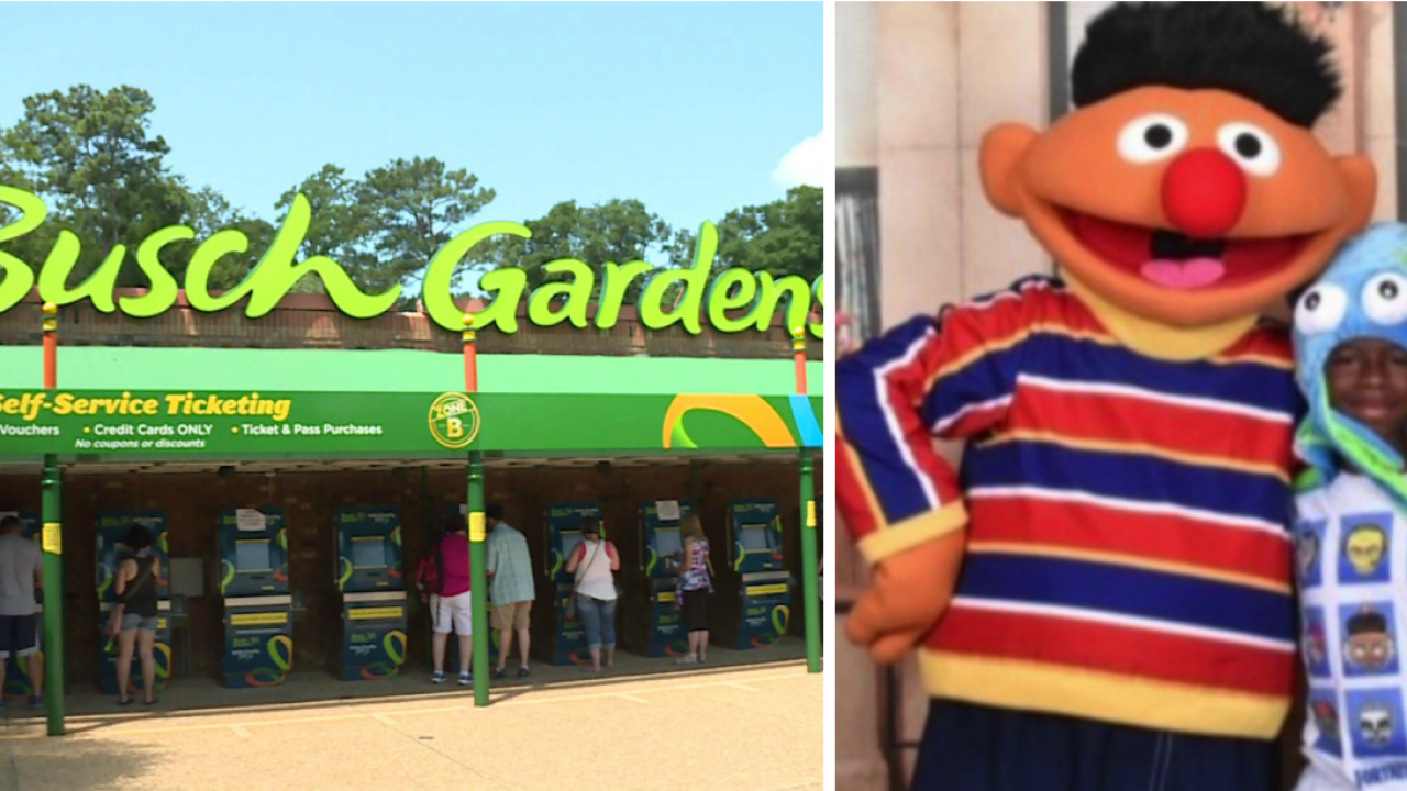 Rob Desir surprises family at Busch Gardens with special passes, parktour