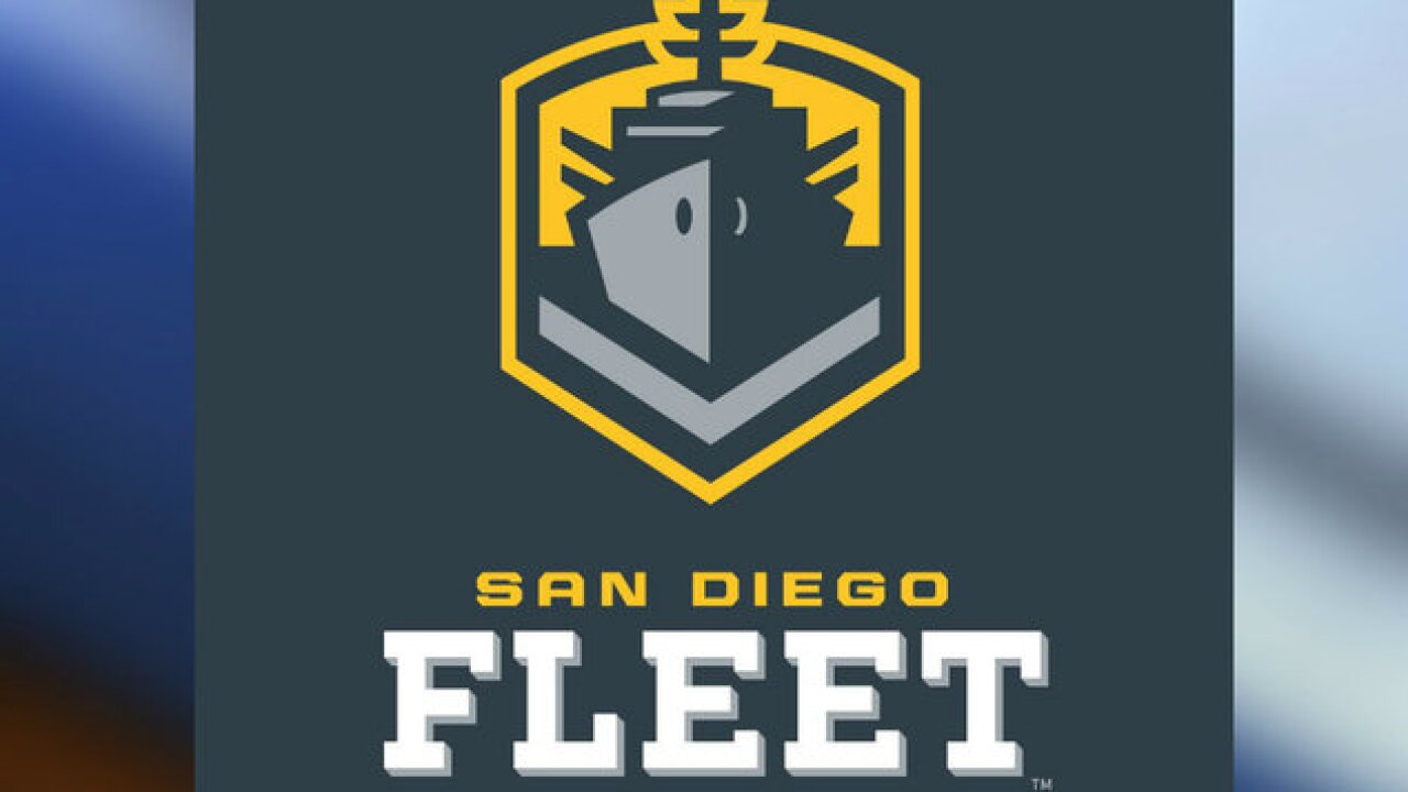 San Diego Fleet Has First Pick In Alliance Of American