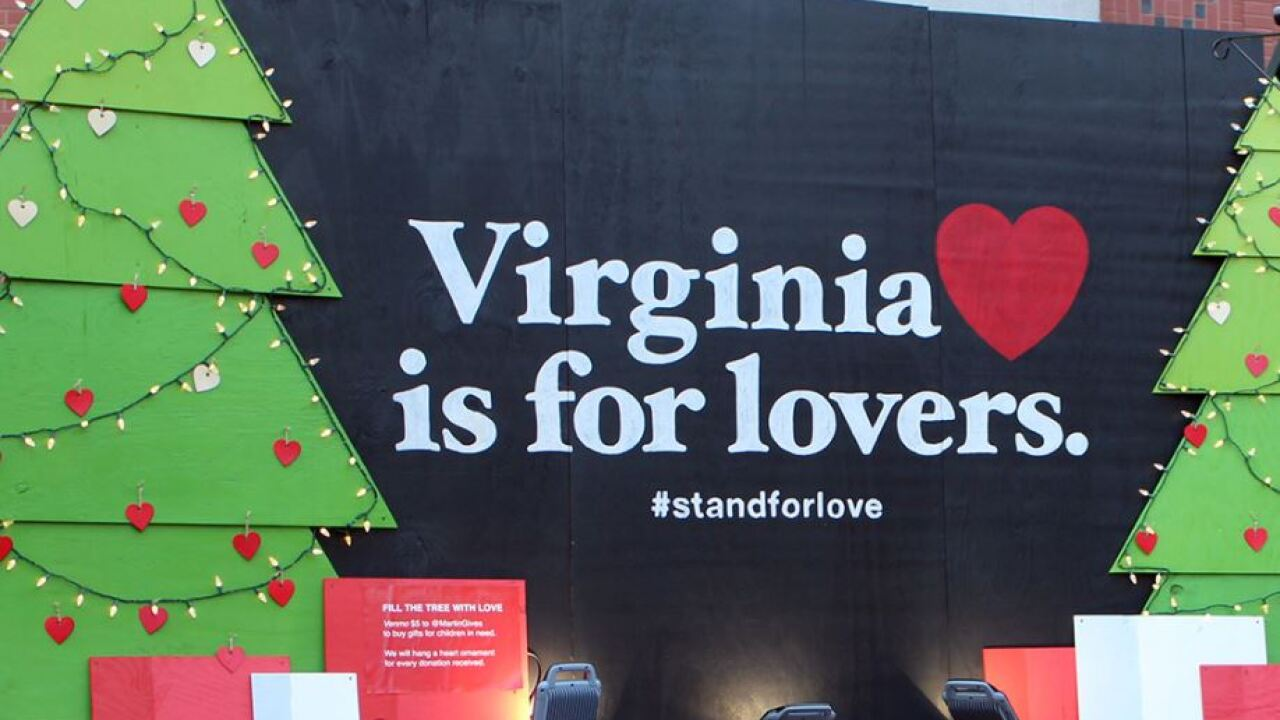 'Virginia is for Lovers' spat goes to court