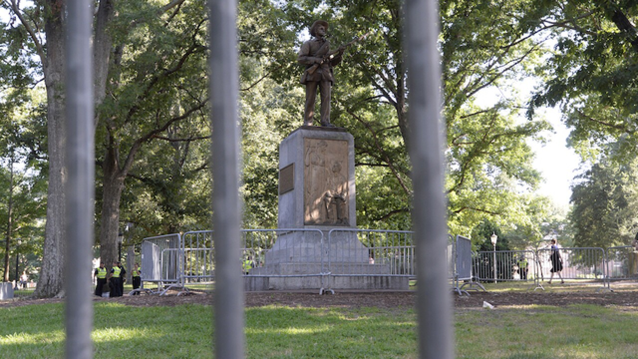 UNC is looking into a new spot for the Silent Sam Confederate monument, school chancellor says
