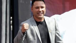 De La Hoya Out Boxing