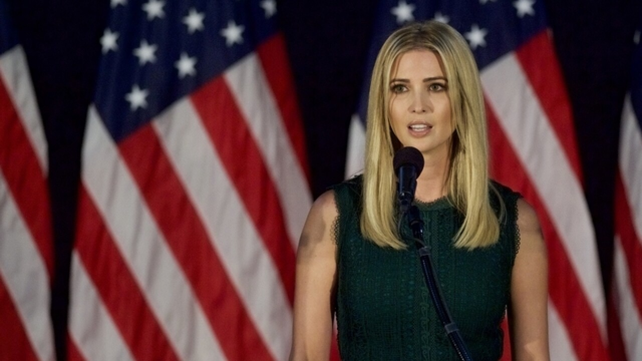 Ivanka Trump getting West Wing office, White House official says