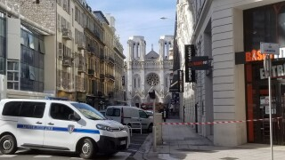 Terrorism suspected in knife attack at French church that killed 3