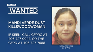 Mandi Verde Dust Killswoodwoman has been reported as as an escapee/walkaway from the Great Falls Pre-Release Center