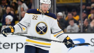 Johan Larsson and Sabres blown out by Oilers 7-2