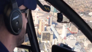 Salute the Troops: Veterans receive Las Vegas helicopter tour