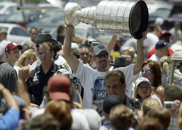 GALLERY: Relive the 2004 Tampa Bay Lightning Stanley Cup Championship