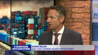3 Questions with Bob Evans: Derek Miller on the Inland Port controversy