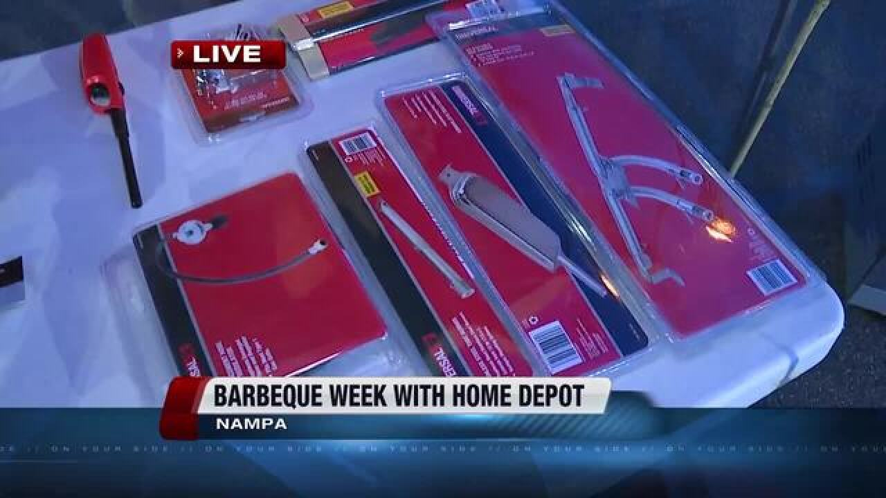 Barbecue Week Continues With Home Depot