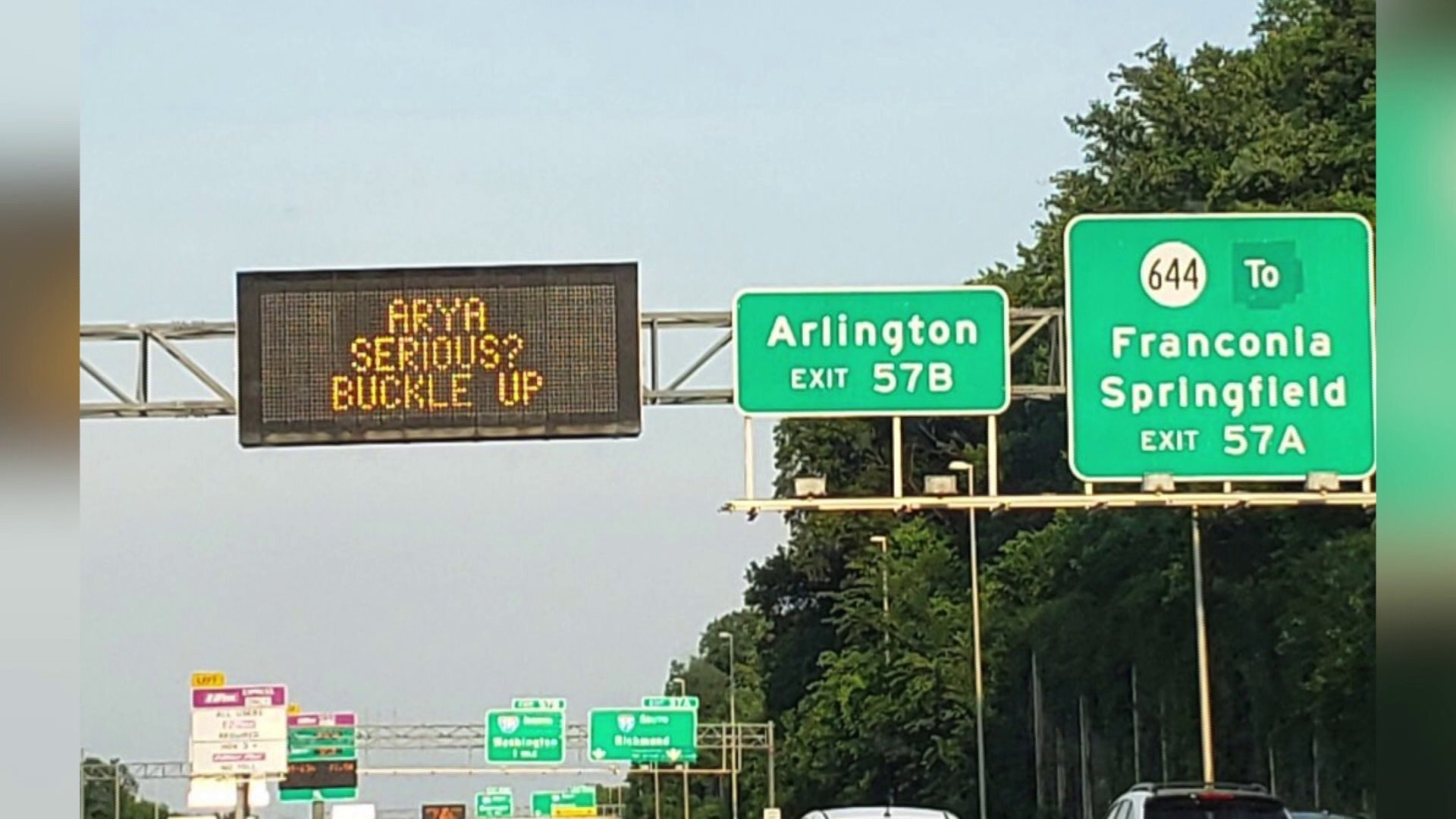 Photos: VDOT capitalizing on 'Game of Thrones' to remind drivers to buckleup