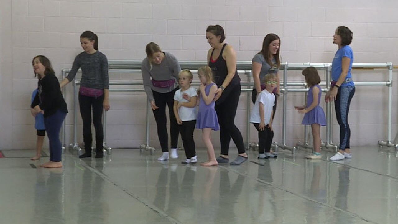 Special needs kids learn confidence from ballet