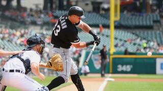 James_McCann_Chicago White Sox v Detroit Tigers