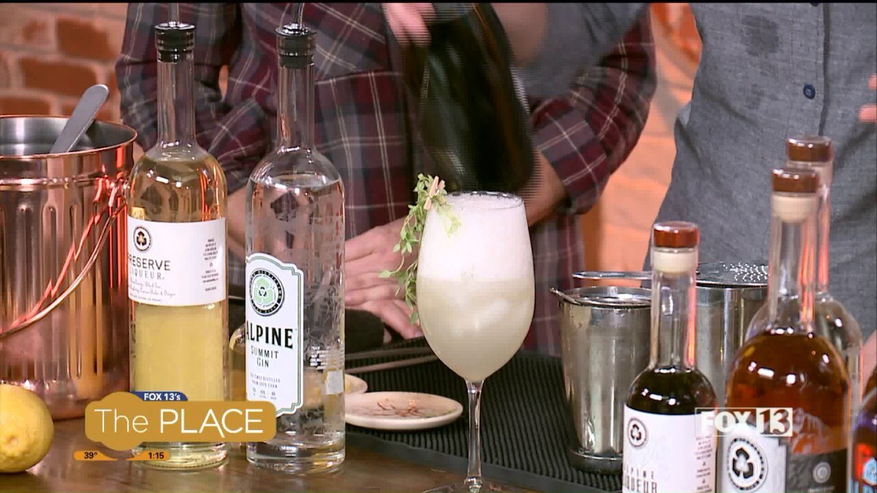 You've heard of 'farm to table;' imbibers can now enjoy 'farm to glass' here inUtah
