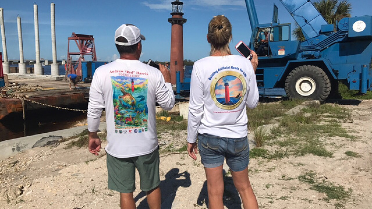 Replica of Jupiter lighthouse to become reef