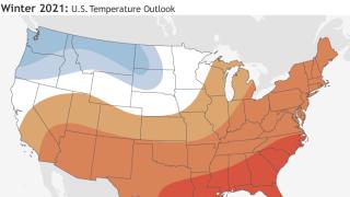 Cooler than average likely across northwest