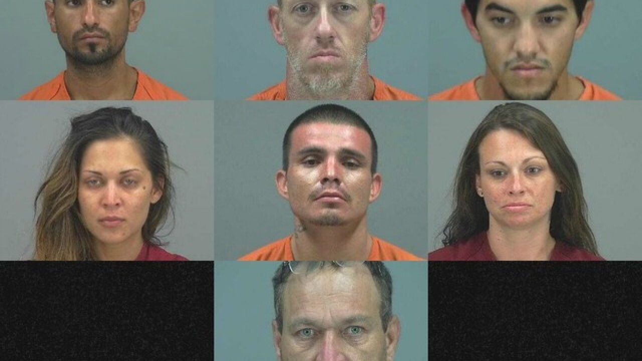 PCSO: 7 arrested in thefts of 40 off-road vehicles in Queen Creek, San Tan Valley