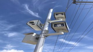 Red light camera warning period ending Wednesday night