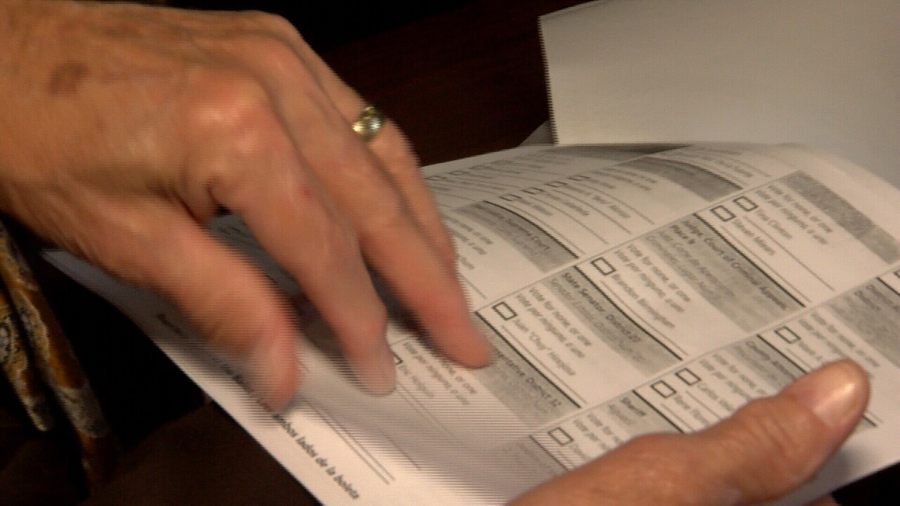 Voter receives write-in ballot for wrong political party