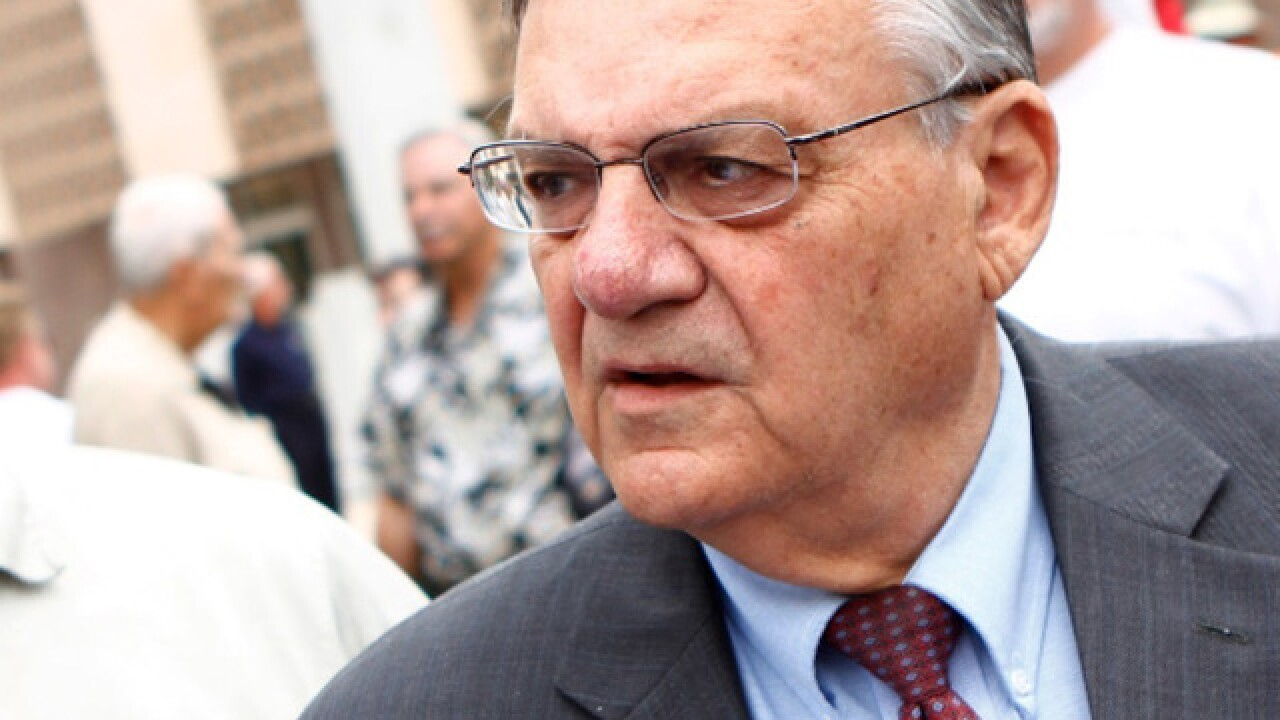 Joe Arpaio hits snag in bid to remove conviction from record