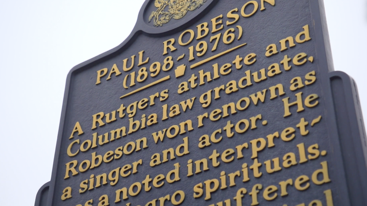 Paul Robeson - a singer and star of stage and screen from the 1920s through the 1960s - was also a social justice activist. His family home in Philadelphia is now a historic site.