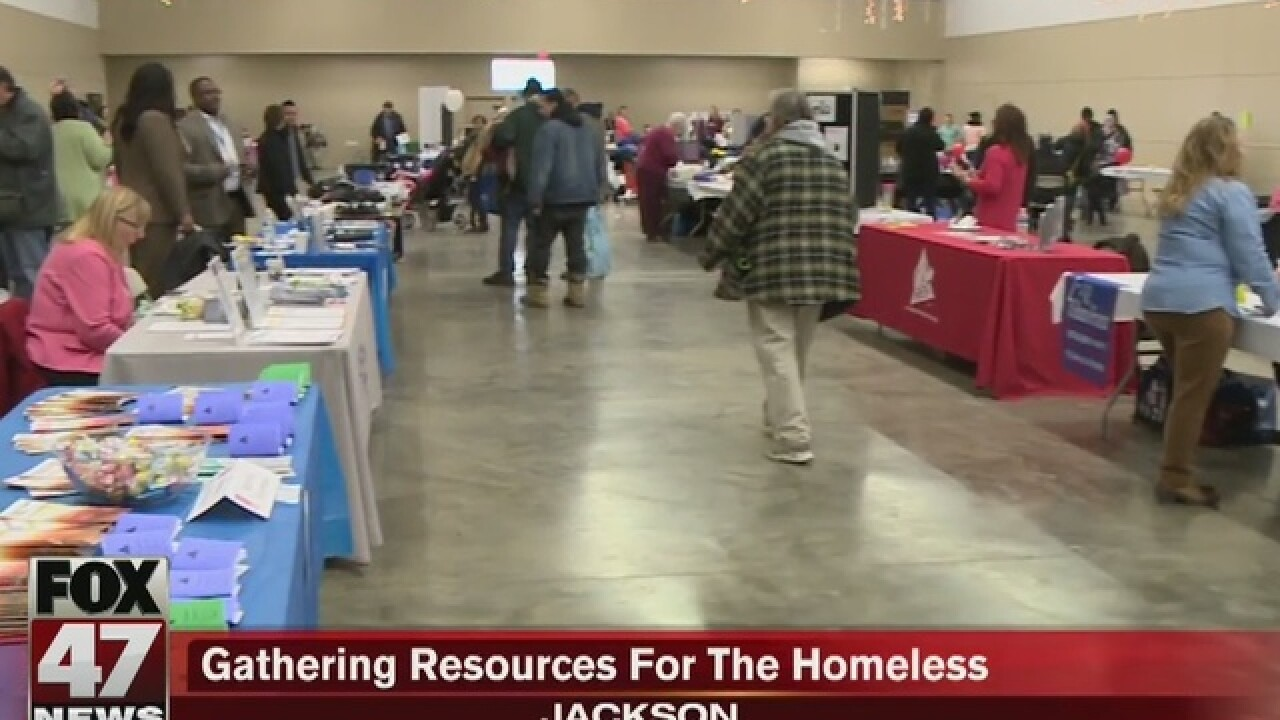 Event helps connect homeless with resources