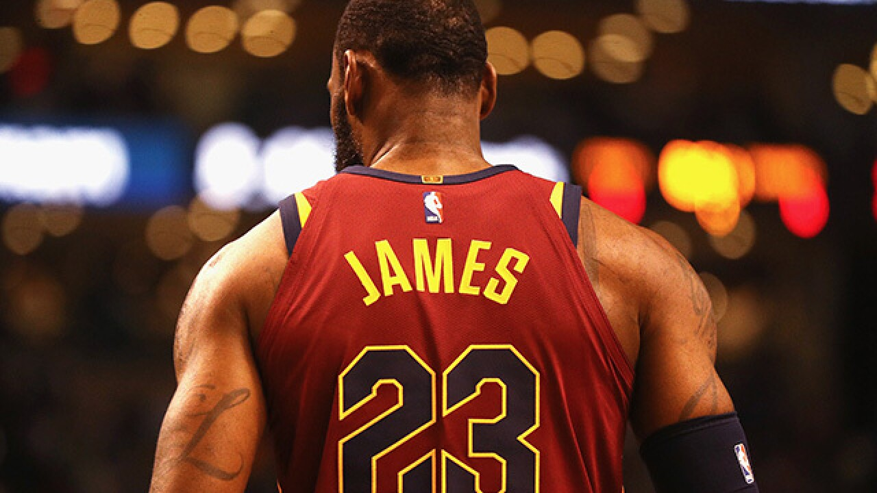timeless design ebb1c f97ee LeBron James didn't think the Cavs would make the NBA Finals ...