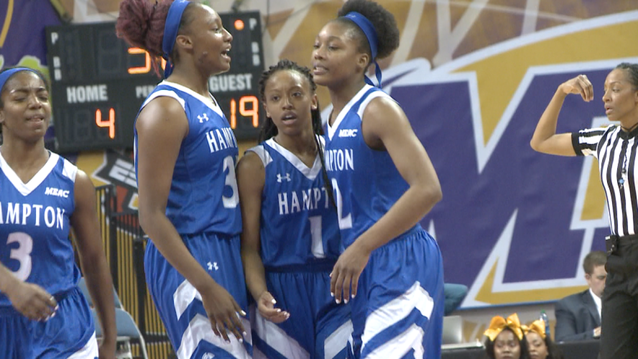 Hampton Lady Pirates win the MEAC Championship; advance to NCAA Tournament