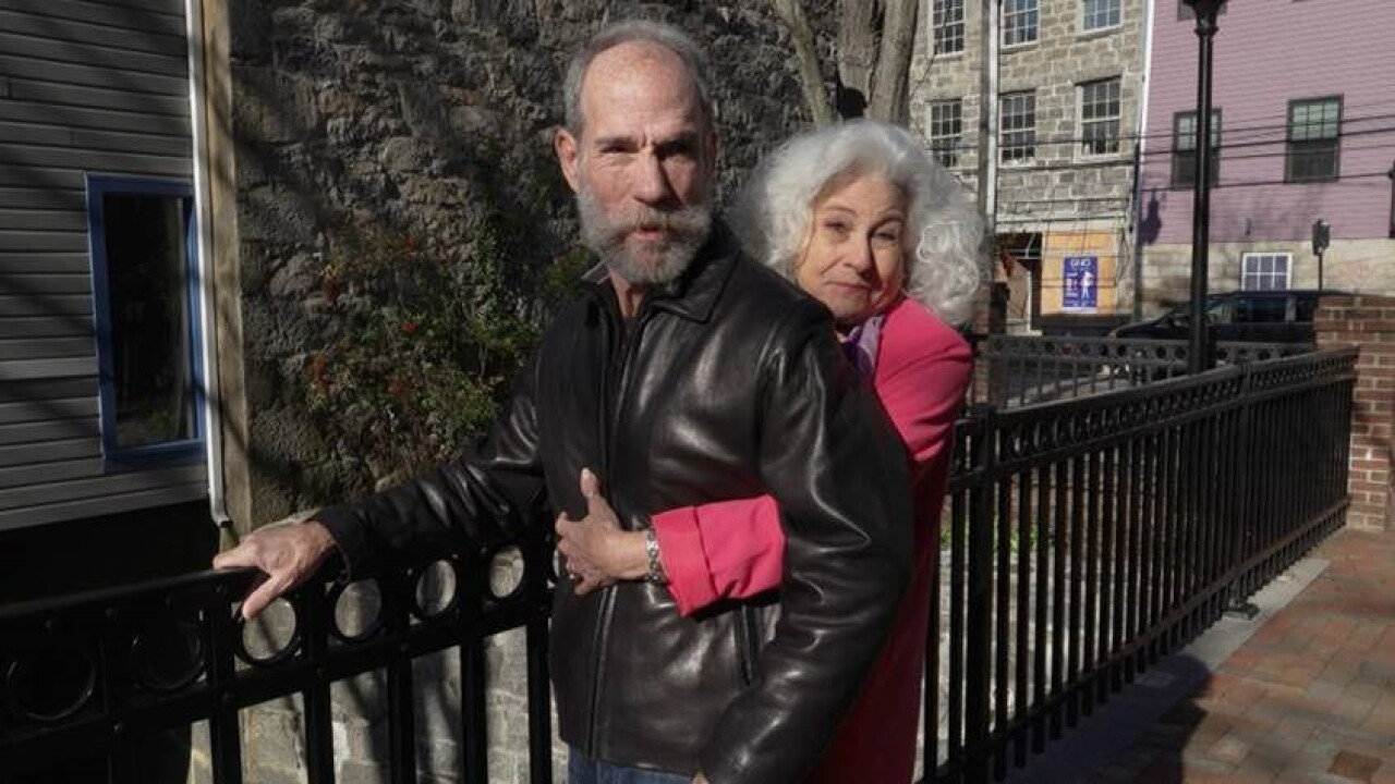 Joan Eve Shea-Cohen and Gary Weltner— local business owners who were impacted by the storm
