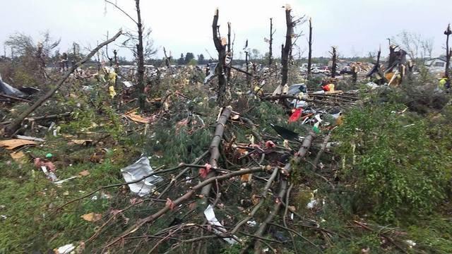 Deadly tornado rips through Barron County