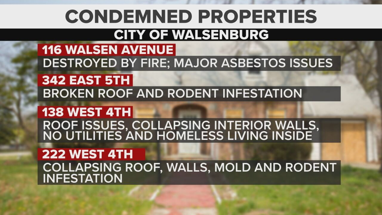 Condemned Home List