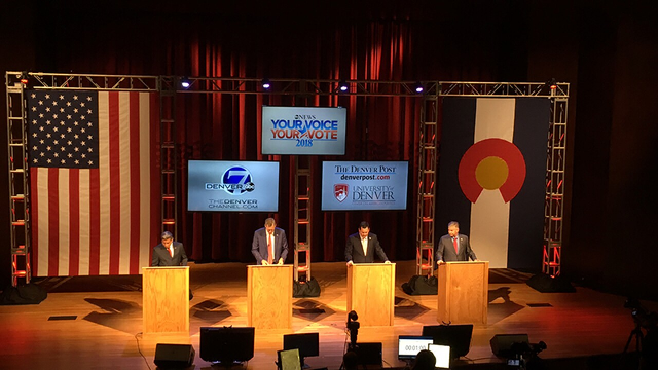 Live blog: Republican gubernatorial debate