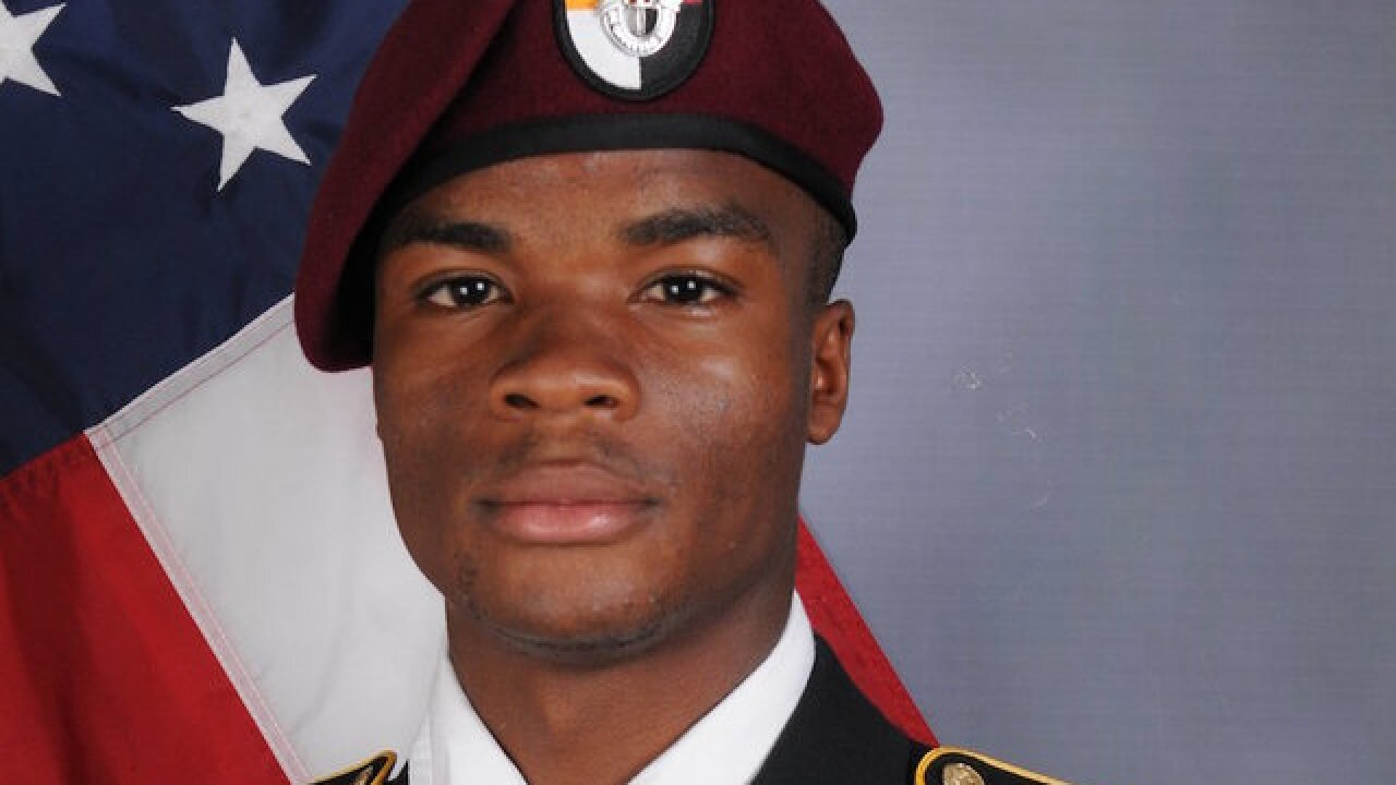 US official: Additional remains of Sgt. La David Johnson found in Niger
