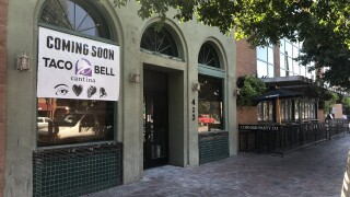 Taco Bell Cantina Mill Avenue Tempe