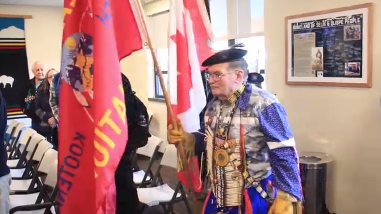 CSKT Flag Ceremony Missoula County