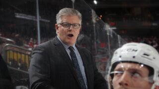NHL coach suspended following allegations of violence against a player