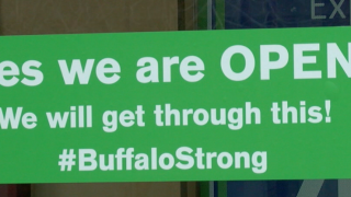 Zoom Buffalo sign