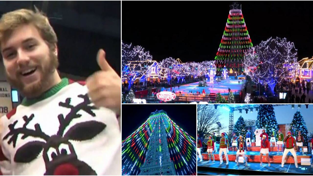 An ugly sweater can save you money at Kings Dominion's WinterFest