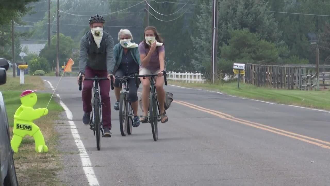 """Bike to Barns"" rolling through Missoula"