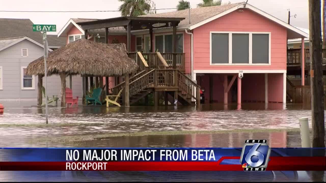 Tropical Storm Beat provides little damage across Coastal Bend