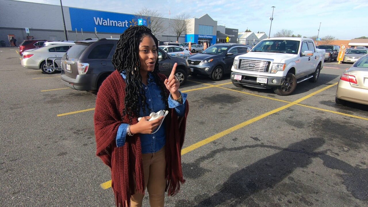 This woman's Guardian Angel works atWalmart
