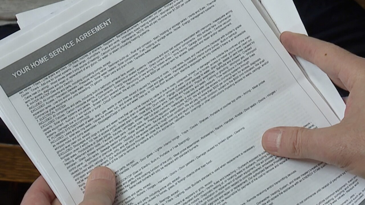 N.E. Ohio consumers issue home warranty coverage warning